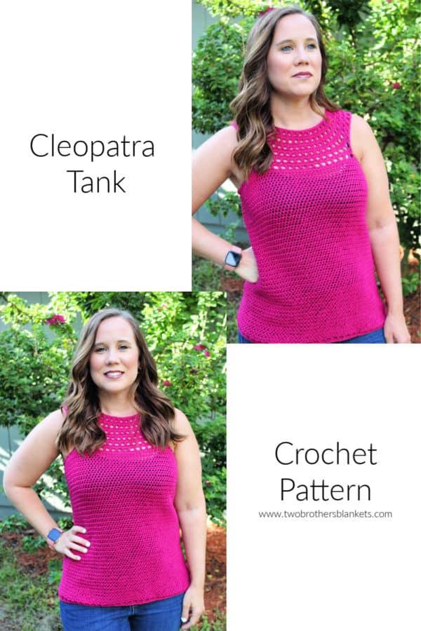 Cleopatra Tank Crochet Pattern