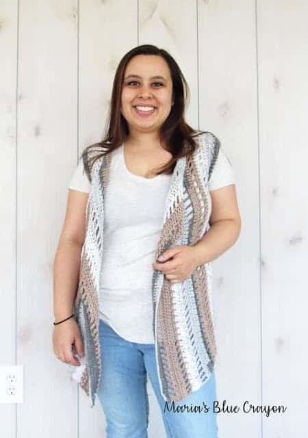 Hippie Dippie Vest - Free Crochet Pattern