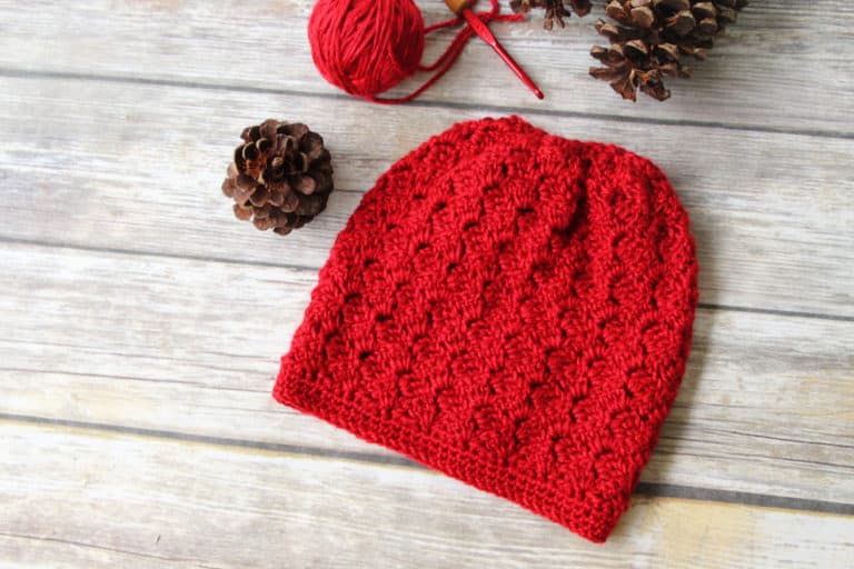 Crochet Slouchy Hat Pattern-Dallas Hat