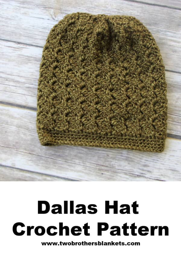 Dallas Hat Crochet Pattern