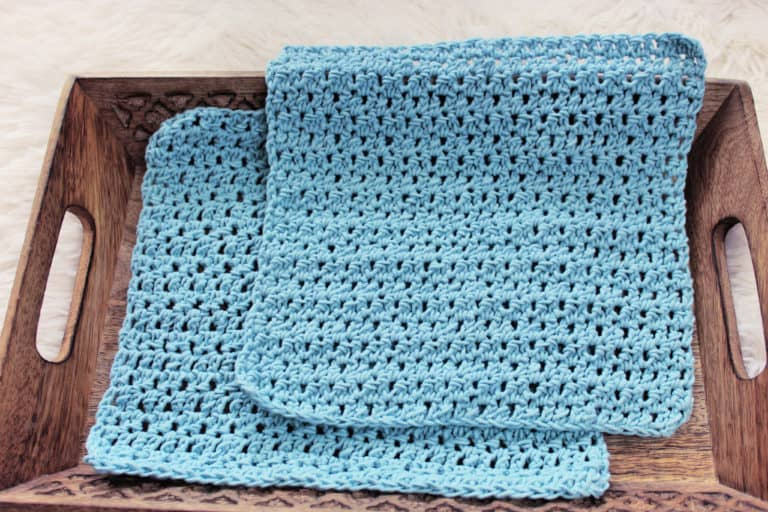 Friendship Crochet Washcloth Free Pattern