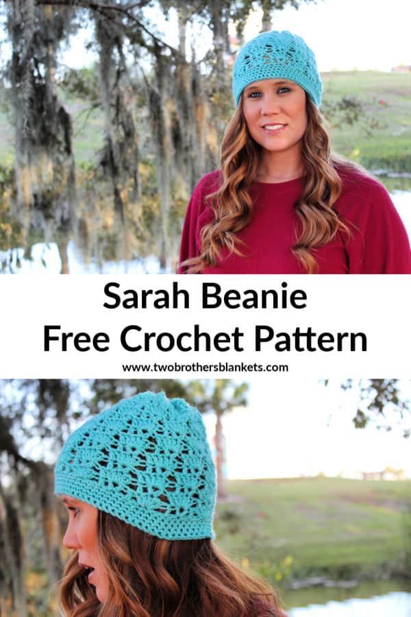 Sarah Beanie Crochet Pattern