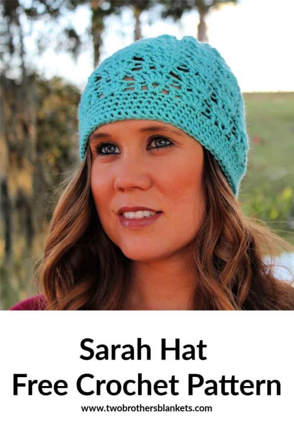 Sarah Beanie Free Crochet Pattern