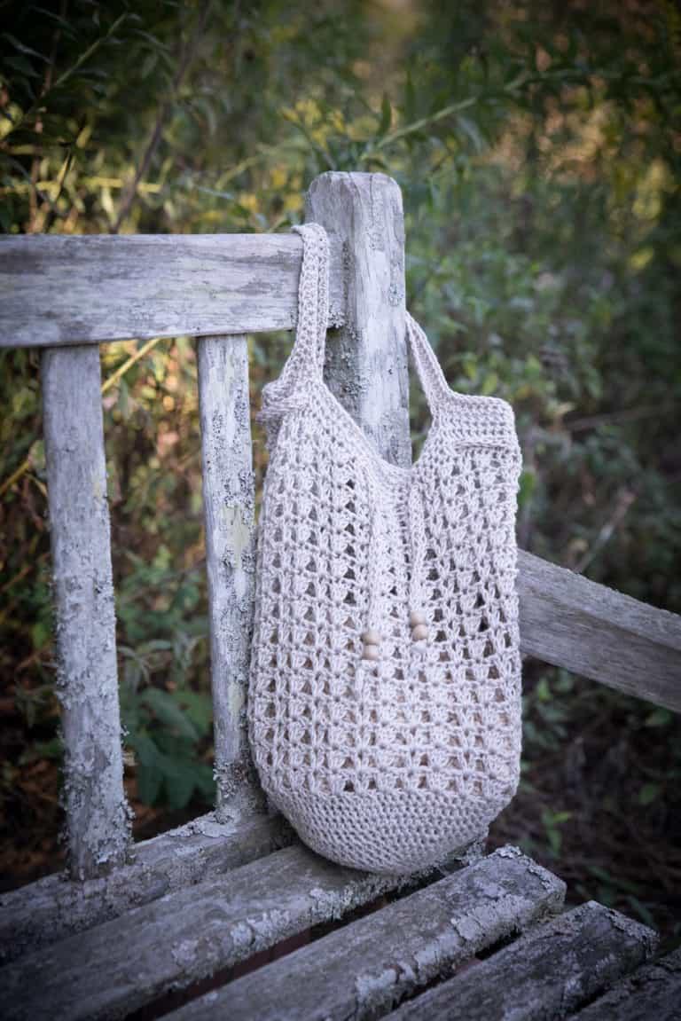 Crochet Tote Bag Pattern- Katie Tote