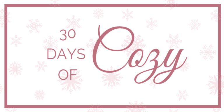 30 Days of Cozy Bundle & Giveaway!