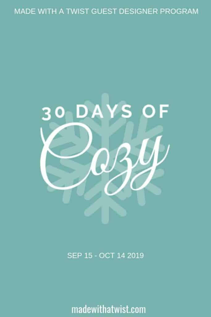 30 Days of Cozy Crochet Pattern Event and Bundle