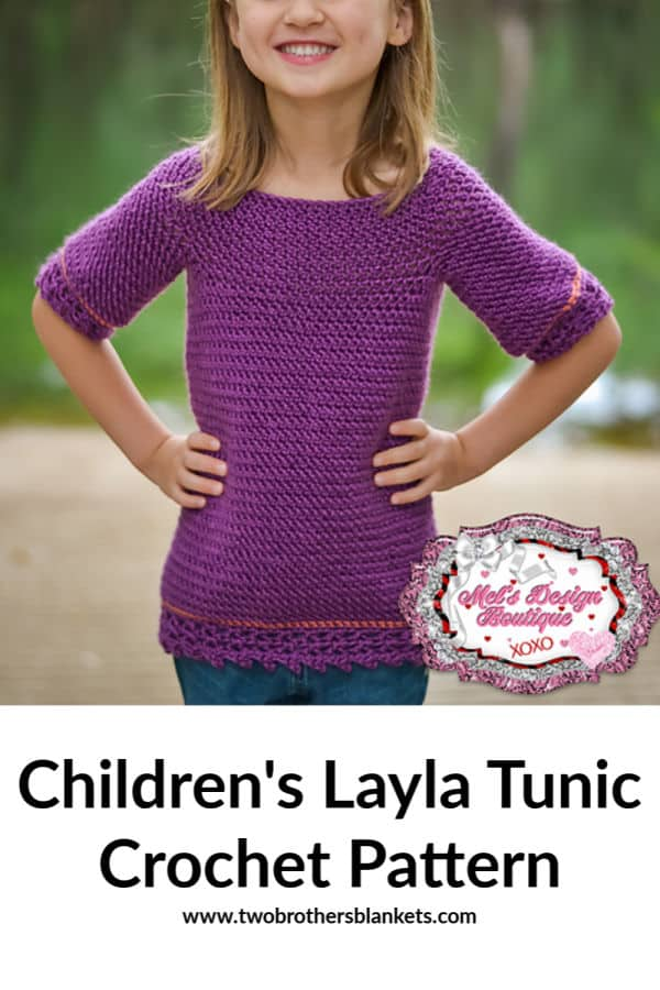 Children's Layla Tunic Crochet Pattern