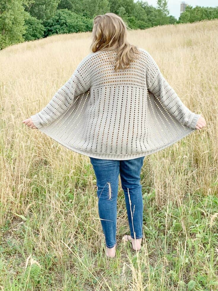The Home Town Cardi-Free Crochet Pattern