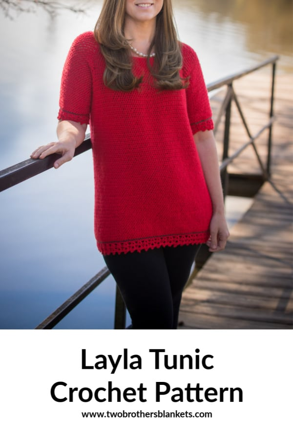 Layla Tunic Crochet Pattern