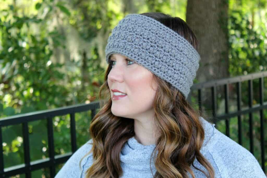 Little Textures Earwarmer Free Crochet Pattern