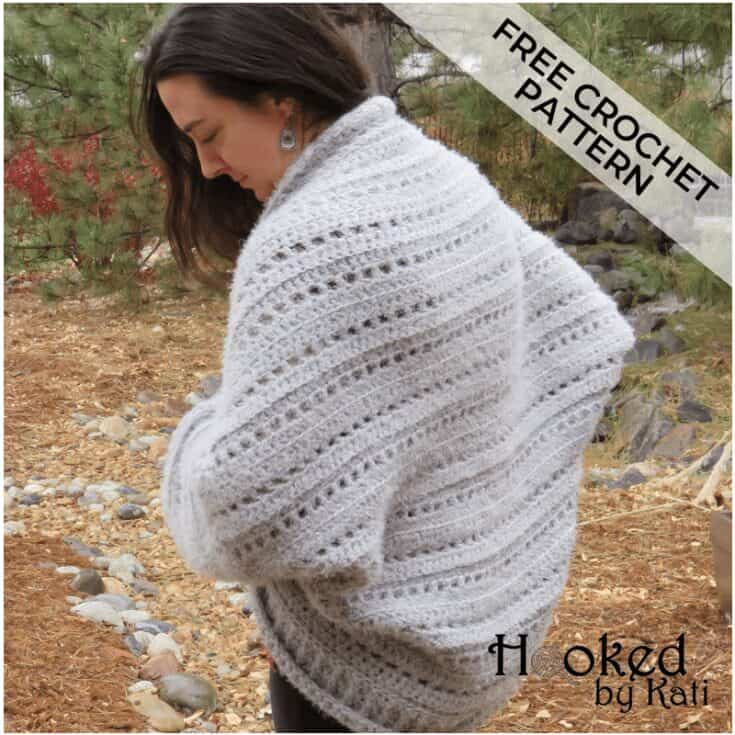 First Snow Cardigan   Free Crochet Pattern