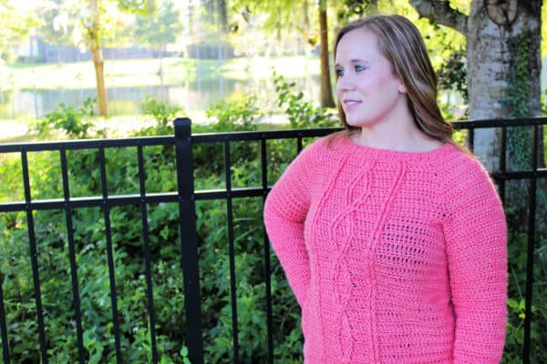 Crossroads Sweater Crochet Pattern