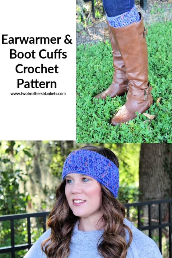 Earwarmer and Boot Cuffs Crochet Pattern