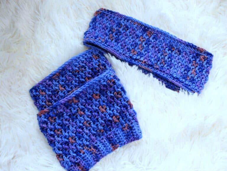 Savannah Earwarmer & Boot Cuffs Set Crochet Pattern