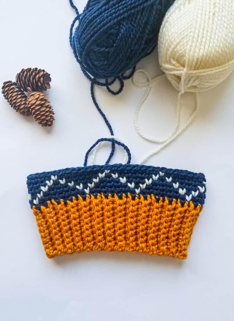 Harper Pine Beanie crochet pattern