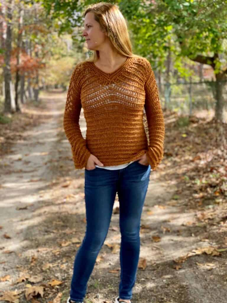 Aphrodite Pullover Free Crochet Pattern