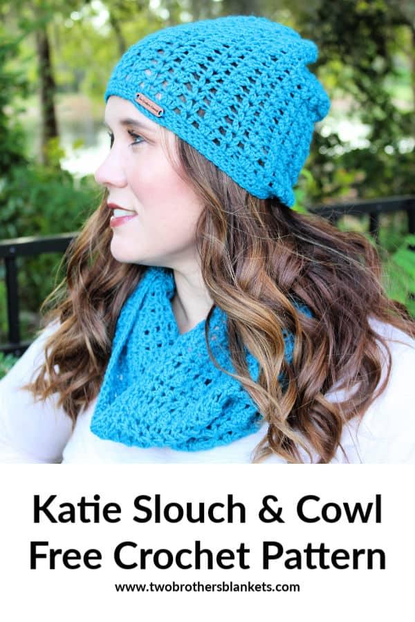 Katie Slouch & Cowl Free Crochet Pattern
