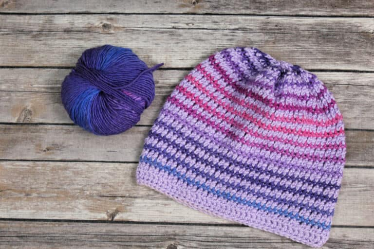 Friendship Hat Free Crochet Pattern