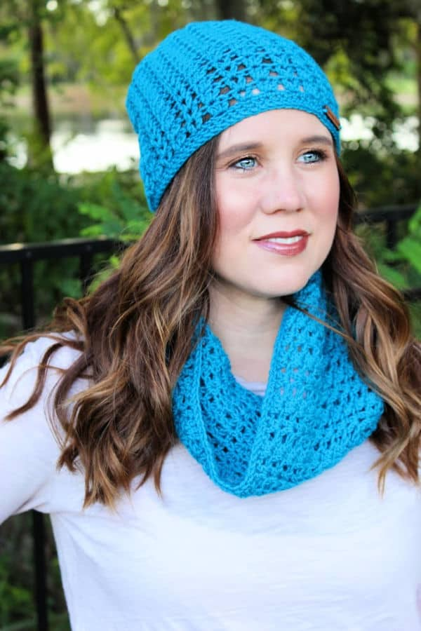 Katie Slouch and Cowl Free Crochet Pattern