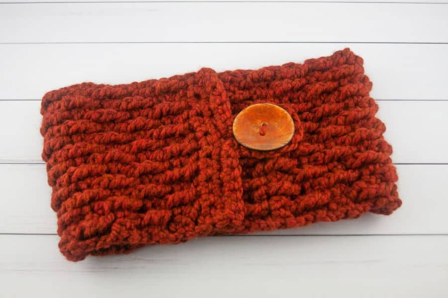 River Birch Cowl Free Crochet Pattern