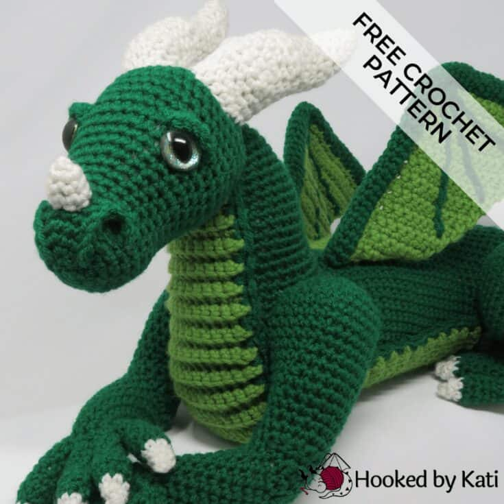 Vincent the Dragon | Free Crochet Pattern Amigurumi