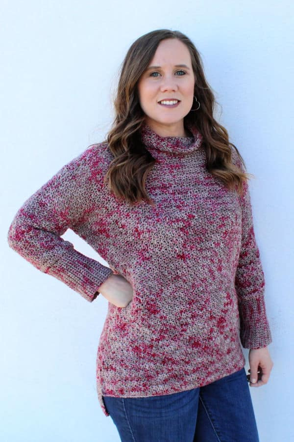 Camellia Sweater Crochet Pattern