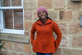 Lillian cardigan pattern by susanna Biaye