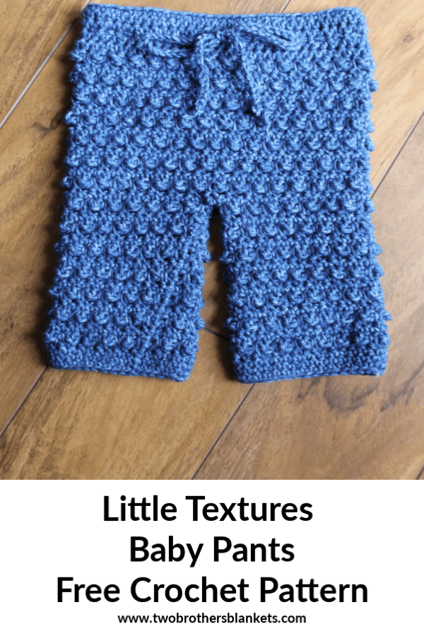 Little Textures Baby Pants Free Crochet Pattern