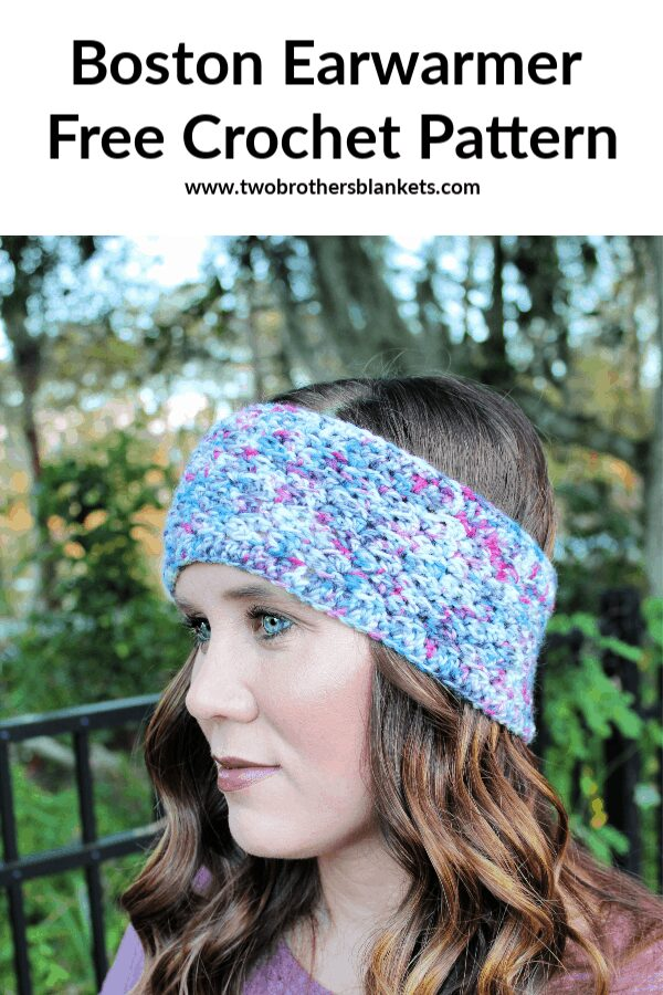 Boston Earwarmer Free Crochet Pattern