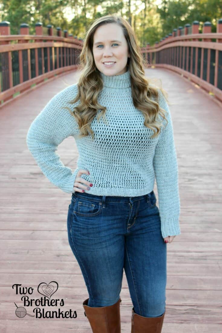 Bombshell Sweater Crochet Pattern