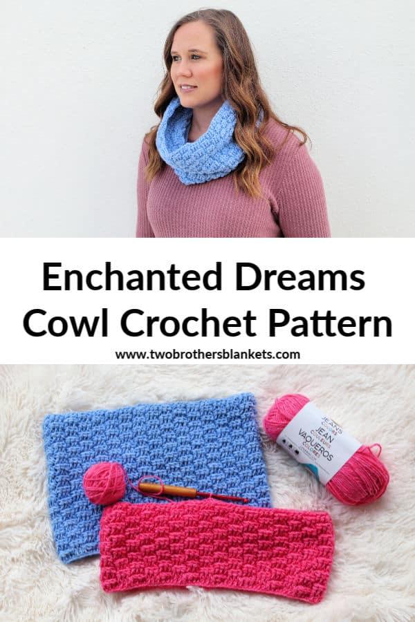Enchanted Dreams Cowl Crochet Pattern