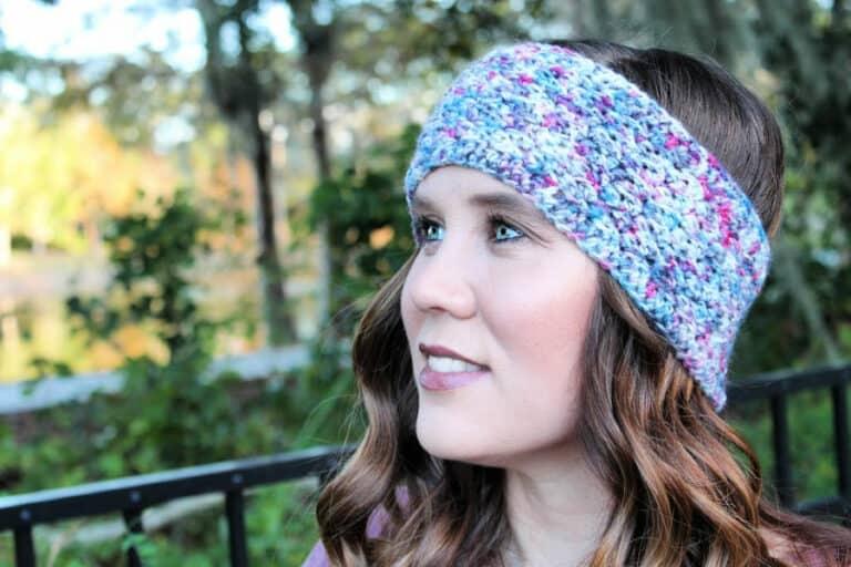 Boston Earwarmer Free Crochet Pattern