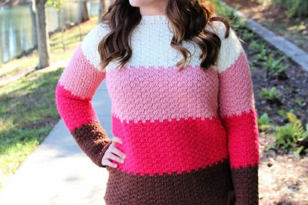 Michelle Sweater Crochet Pattern