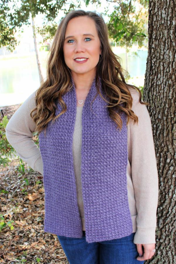 Kristen Scarf Free Crochet Pattern
