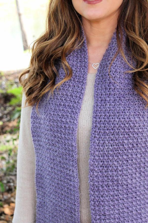Free Crochet Scarf Pattern – Kristen Scarf