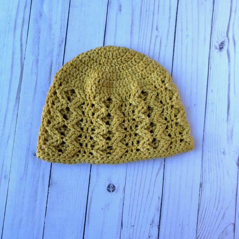Making Waves Hat Free Crochet Pattern