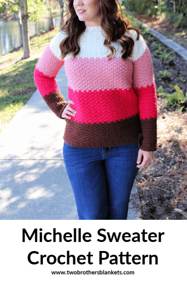 Michelle Sweater Crochet Pattern