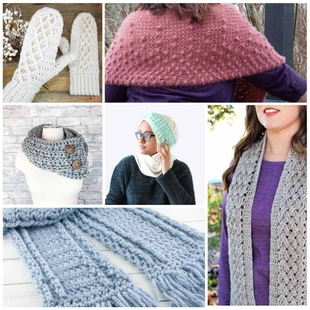 Winter Warmers Bundle Crochet Patterns
