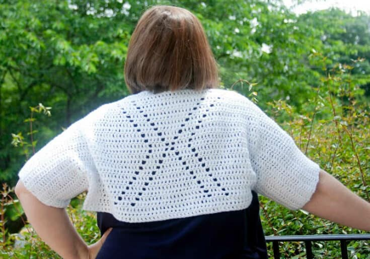 Crochet Shrug Pattern - X-Tra Shrug