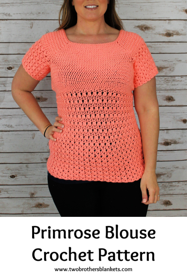 Primrose Blouse Crochet Pattern