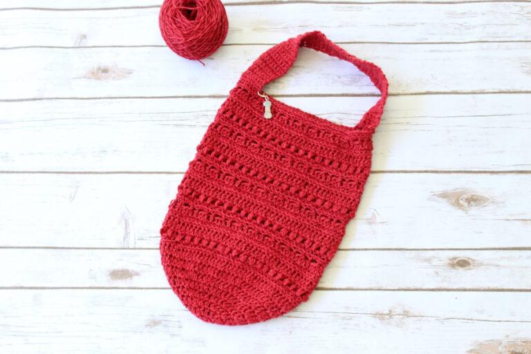 Crochet Handbag Pattern- Hattie Handbag