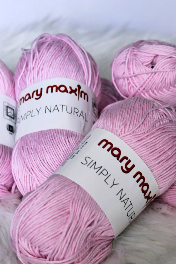 Mary Maxim Simply Natural Yarn