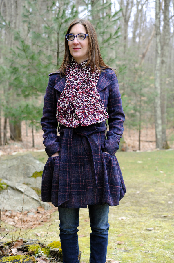 Majestic Keyhole Scarf Free Crochet Pattern