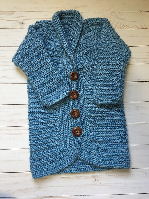 Children's Cardigan Crochet Pattern