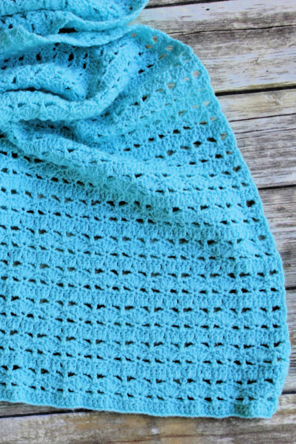 Mighty Waves Prayer Shawl Crochet Pattern