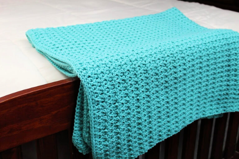 Edgewater Blanket Free Crochet Pattern