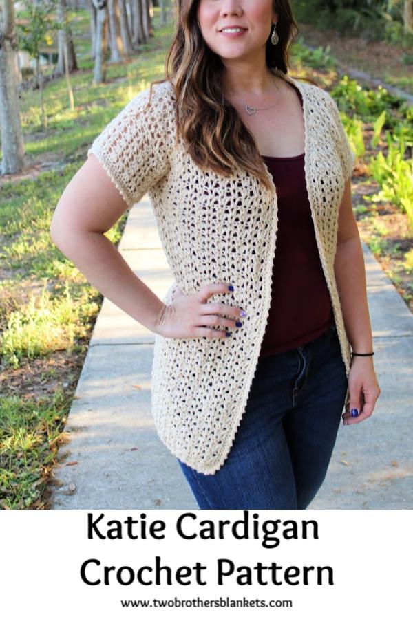 Katie Cardigan Crochet Pattern
