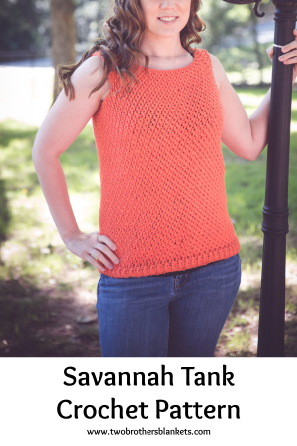 Savannah Tank Crochet Pattern