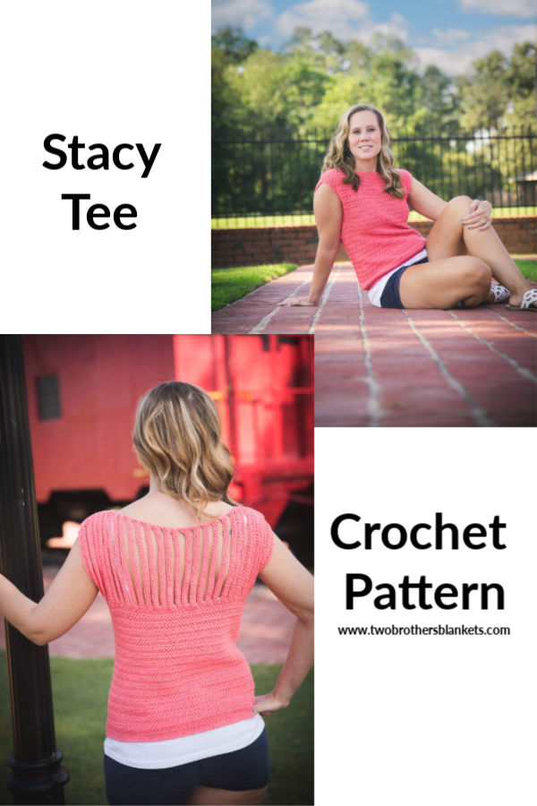 Stacy Tee Crochet Pattern