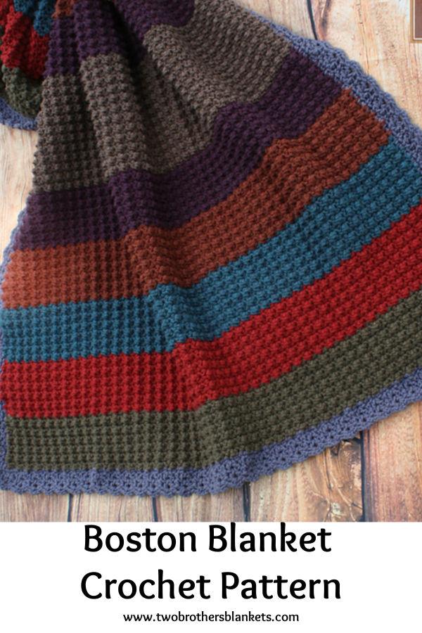 Boston Blanket Crochet Pattern